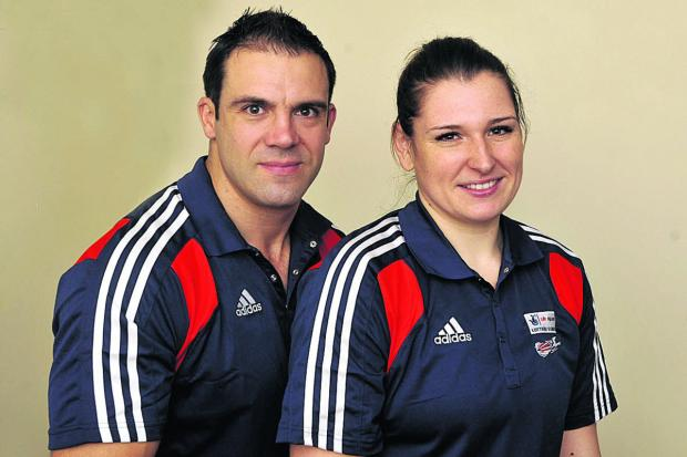 This Is Wiltshire: Great Britain bobsleigh pilots John Jackson and Paula Walker are expecting their