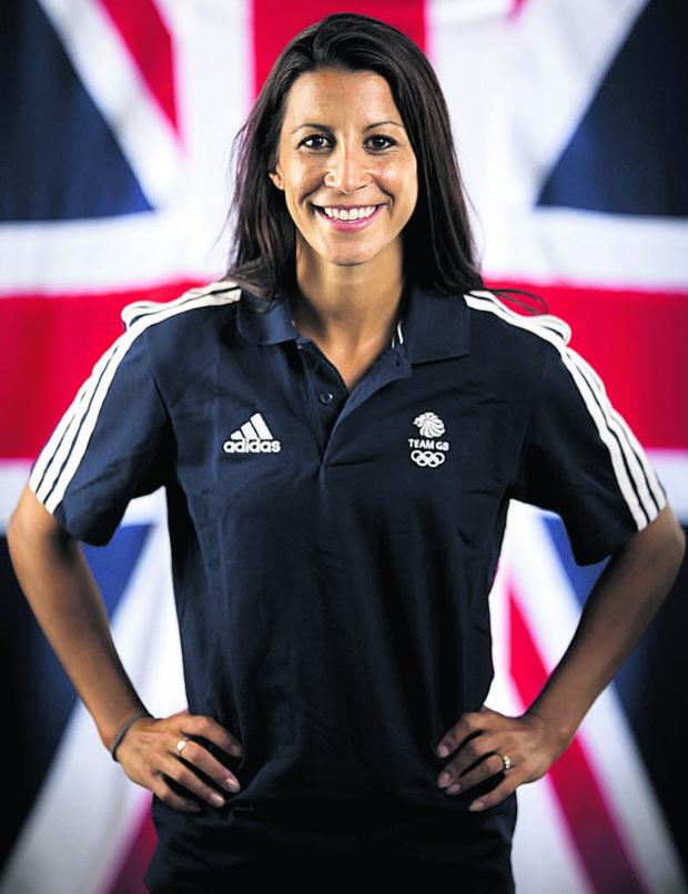 This Is Wiltshire: Shelley Rudman will compete in her third Olympic Games next month
