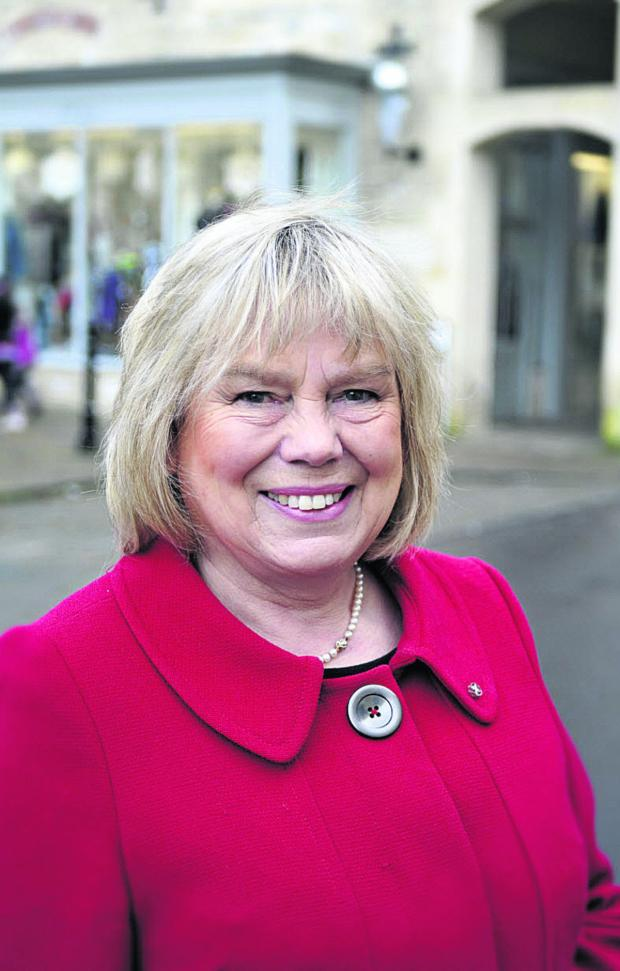 This Is Wiltshire: Council leader Jane Scott