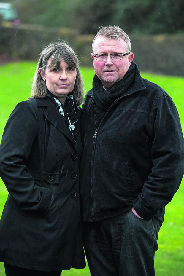 This Is Wiltshire: Sean's parents Yolanda and Steve Turner say the inquest verdict is a partial victory