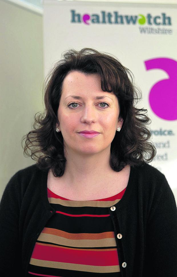 This Is Wiltshire: Emma Cooper, chief executive of Healthwatch Wiltshire