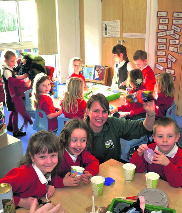This Is Wiltshire: Westwood with Iford pupils
