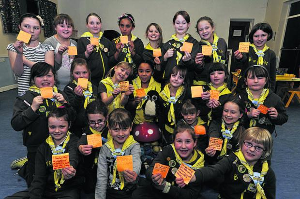 This Is Wiltshire: 1st Trowbridge Brownies with letters to the Wiltshire Times about the joys of membership