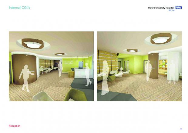 This Is Wiltshire: What the reception area could look like