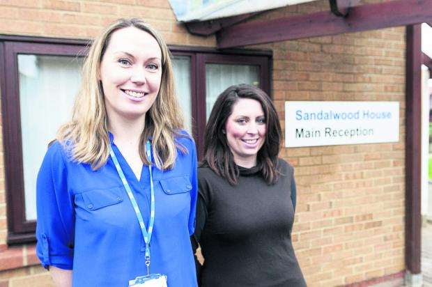 This Is Wiltshire: Sarah Mills, left, and Sarah Power, who have launched a support group for relatives of veterans at Sandalwood house