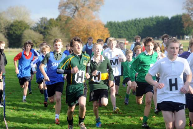 This Is Wiltshire: CROSS COUNTRY: Wiltshire Schools event gets green light for Saturday
