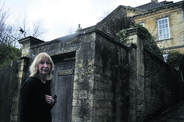 This Is Wiltshire: Houseowner Carolyn Ching at her Church Street property