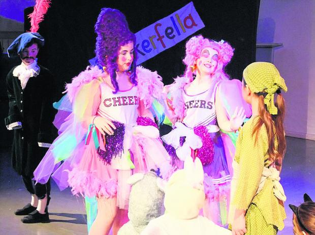 This Is Wiltshire: Cinderella & Rockerfella was the pantomime performed by pupils at St Margaret's School in Calne