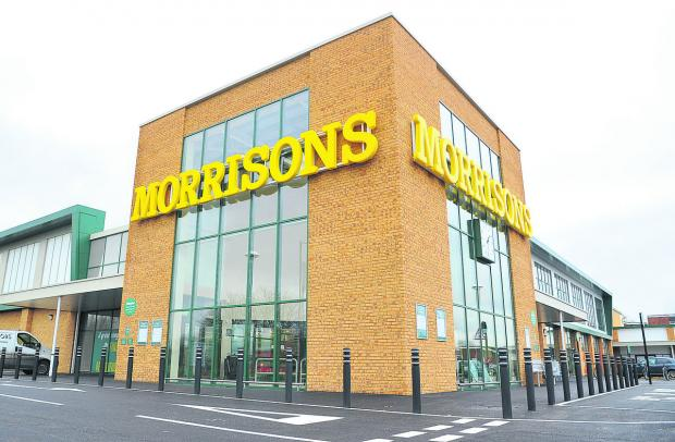 This Is Wiltshire: The new Morrisons, in Eldene, which is opening next Monday