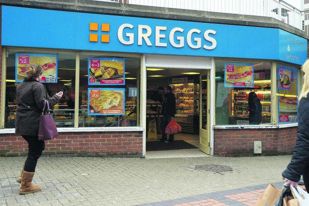 This Is Wiltshire: The Greggs shop