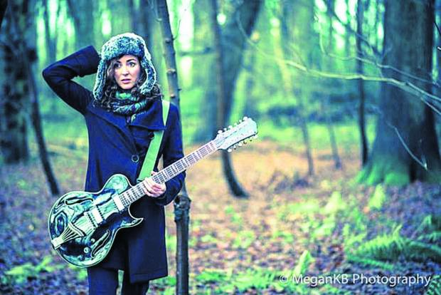 This Is Wiltshire: Musician Ami Kaelyn, as photographed by Megan