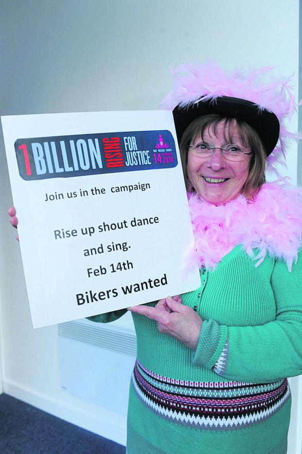 This Is Wiltshire: Fran Lewis of Splitz is calling for owners of motorcycles to join the campaign convoy