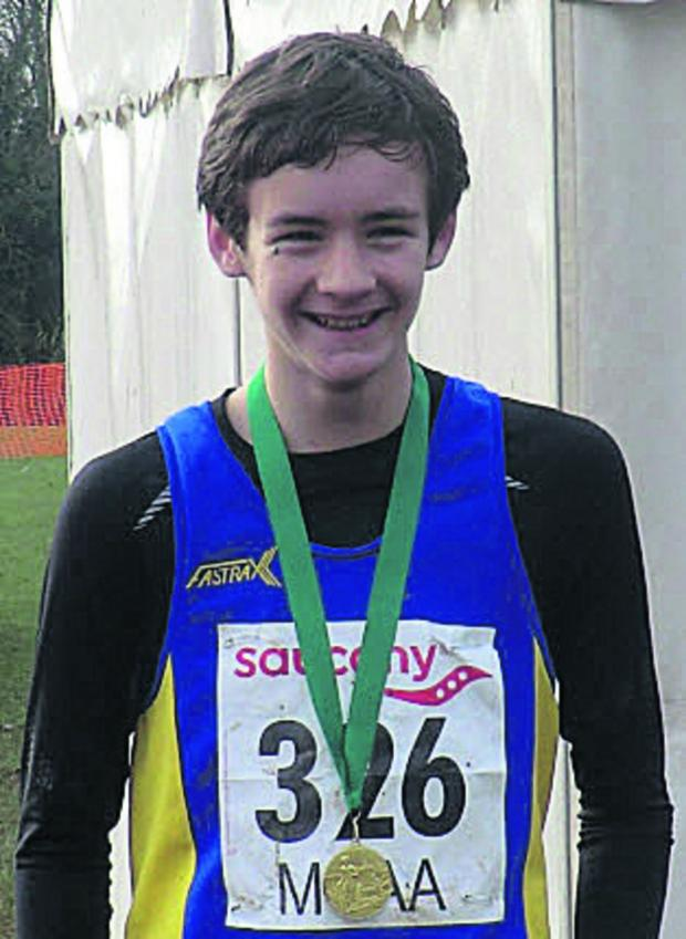 This Is Wiltshire: U13 winner Hayden Bailey