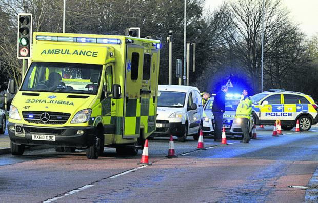 This Is Wiltshire: South West Ambulance Service is failing to meet targets