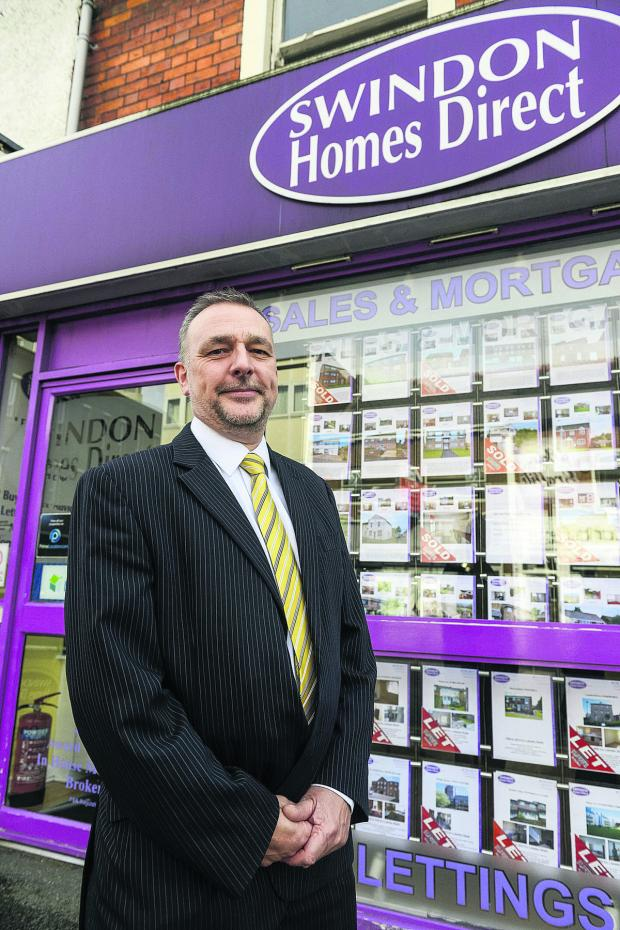 This Is Wiltshire: Simon Rosser, of Swindon Homes Direct