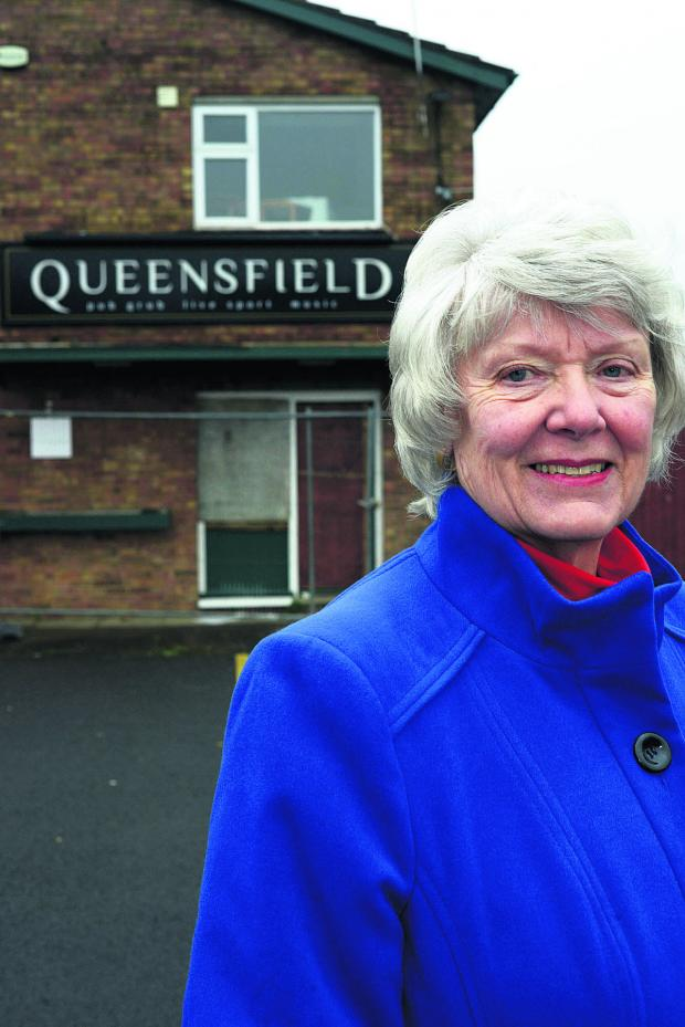 This Is Wiltshire: Brenda Archer wants to know what residents want to see at the site of the Queensfield Pub, Upper Stratton