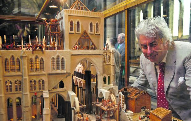 This Is Wiltshire: Author Ken Follett will be at Salisbury Cathedral on March 2
