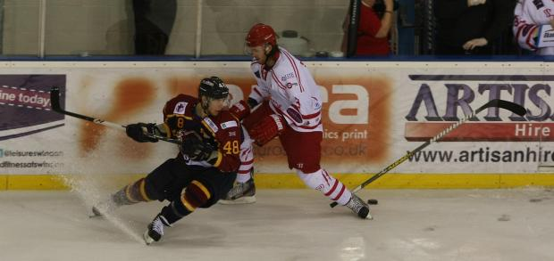 This Is Wiltshire: Action from Wildcats v Guildford on Saturday night