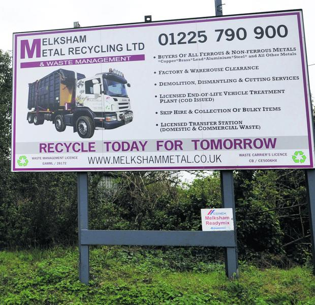 This Is Wiltshire: Melksham Metal Recycling's premises