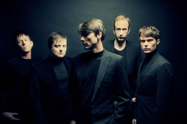 This Is Wiltshire: Suede, fronted by Brett Anderson, centre