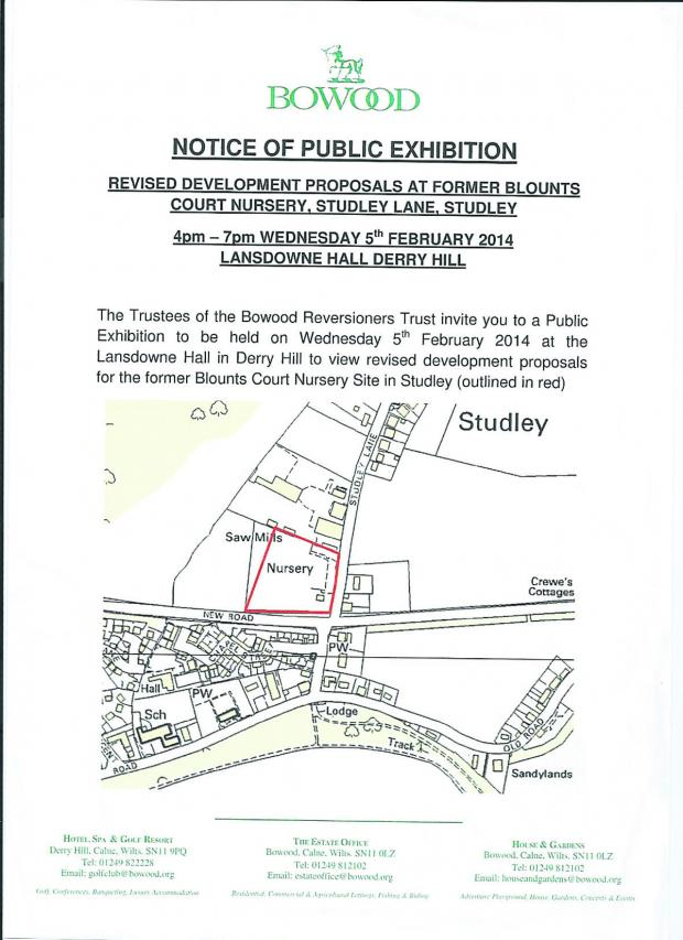 This Is Wiltshire: A flyer advertising the exhibition