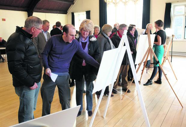 This Is Wiltshire: The Dyson exhibition drew crowds of interested townspeople