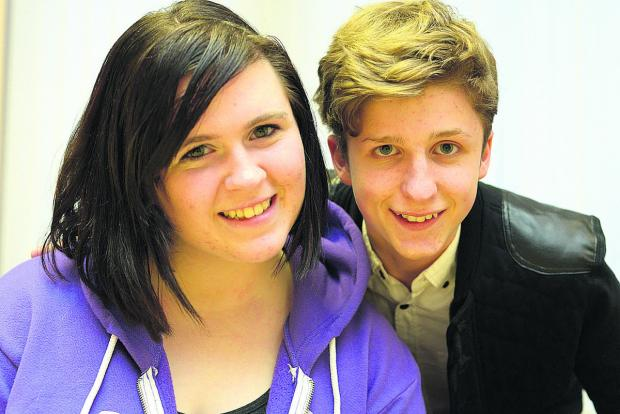 This Is Wiltshire: Prom competition winners Emily Watts and James Wright