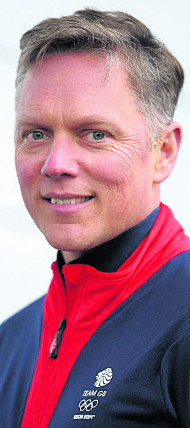 This Is Wiltshire: British Skeleton performance director Nigel Laughton, who lives in Box