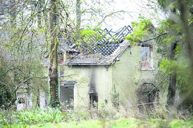 This Is Wiltshire: The aftermath of the fire in Long Acre, Purton