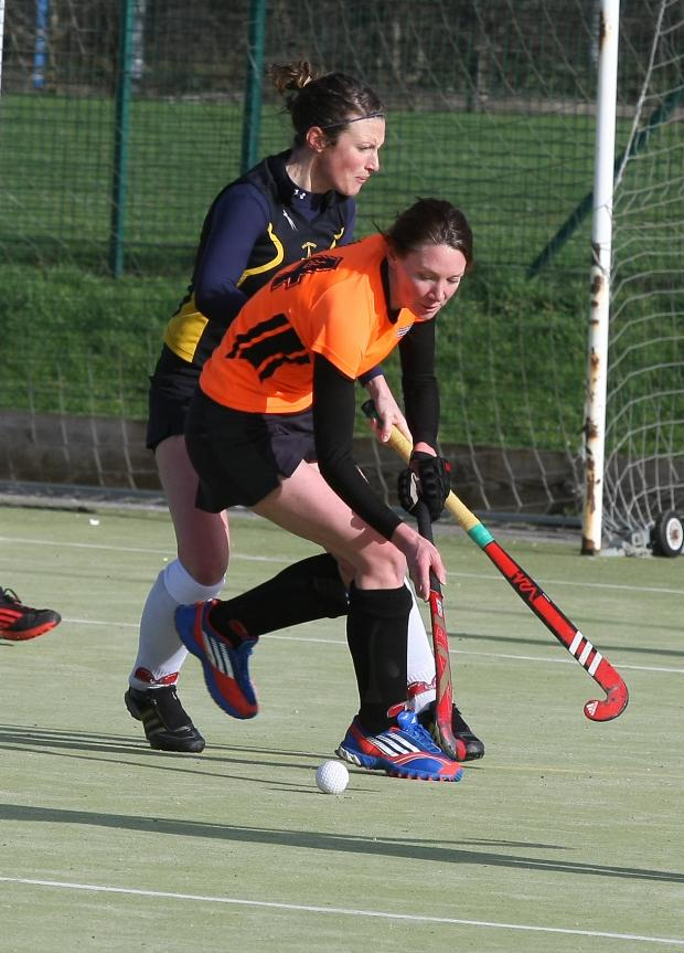 This Is Wiltshire: Vicky Stokes in action for Swindon against Salisbury at the weekend