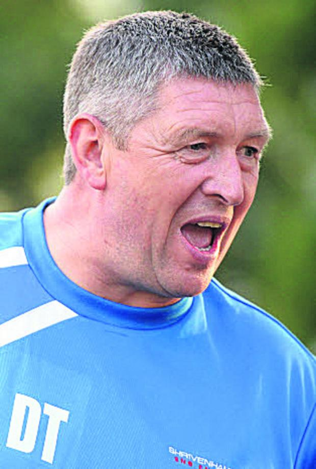 This Is Wiltshire: Football stalwart Dave Turner, who died after suffering a heart attack in the early hours of Monday
