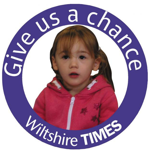 This Is Wiltshire: The Wiltshire Times' Give us a chance appeal is helping children's centre Stepping Stones