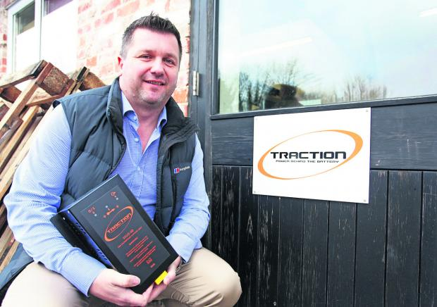 This Is Wiltshire: Chris Walker the managing director of Traction Chargers based in Devizes						                                                                                (VS128) By vicky scipio