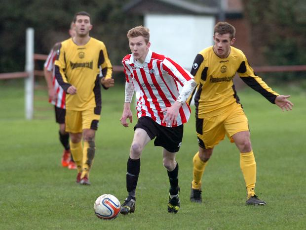 This Is Wiltshire: Mark Barnes scored for Devizes Town but the Nursteed Road side were beaten 4-1 last weekend