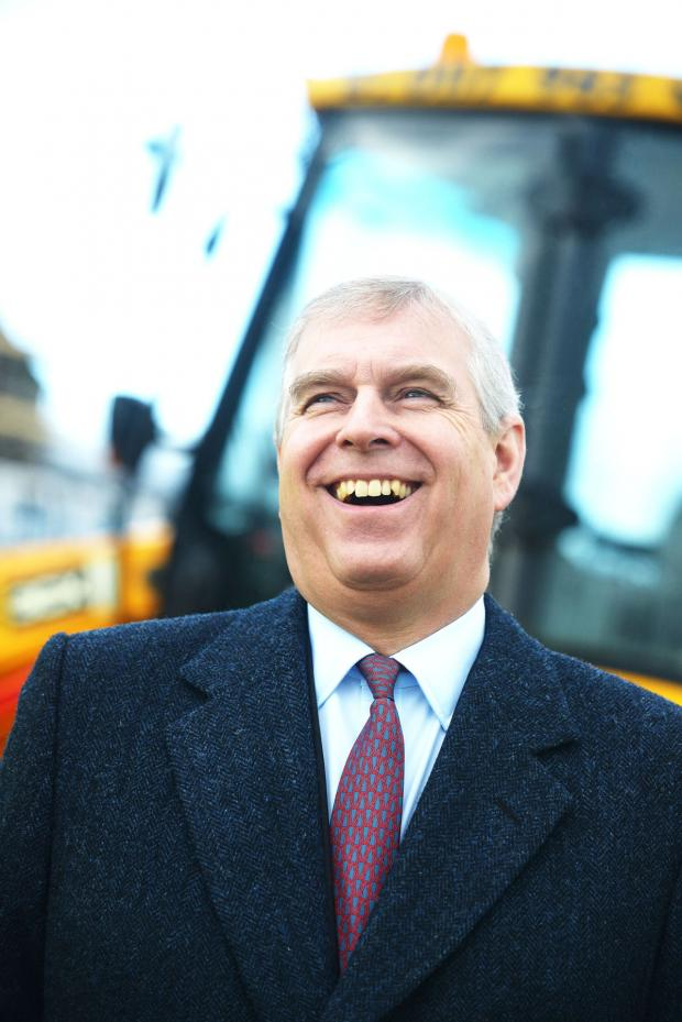 This Is Wiltshire: The Duke of York, all smiles at UTC Swindon today