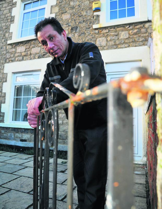 This Is Wiltshire: Landlord Bindesh Badiani is being refused insurance coverage after a tenant burnt his house down while taking legal highs
