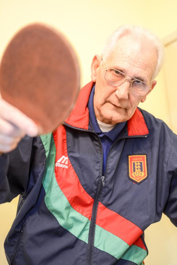 This Is Wiltshire: Local table tennis stalwart Ernie Howell
