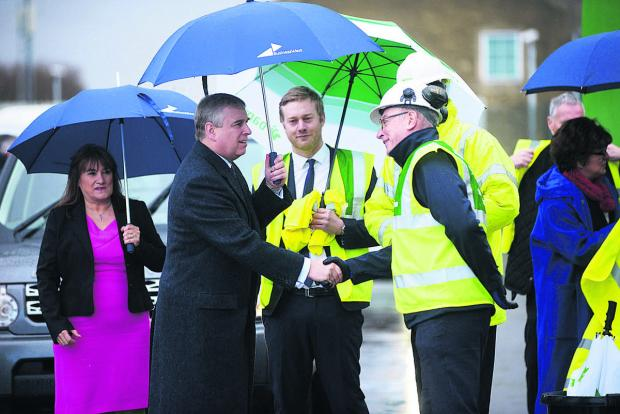 This Is Wiltshire: The Duke of York visiting UTC in Swindon