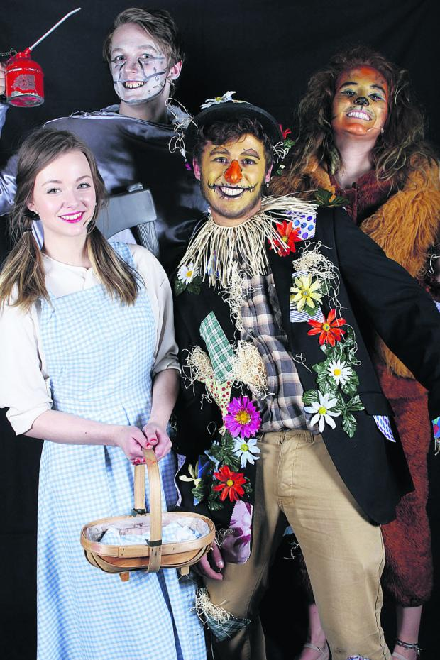 This Is Wiltshire: Devizes School students from right across the age range took part in the four days of performances of The Wizard of Oz show