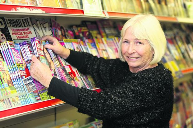 This Is Wiltshire: Owner of Havelock News Kathy McGuire is leaving after 19 eventful years in Swindon