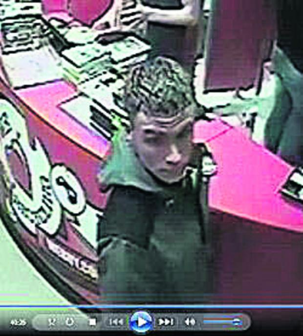 This Is Wiltshire: Police want to speak to this man in connection with counterfeit notes being used in shops in the Chippenham and Corsham area