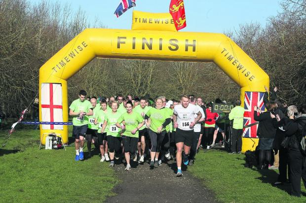 This Is Wiltshire: Runners set off at the start of last year's Prospect 10k, the first to be held. The next is taking place on Sunday
