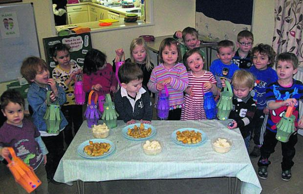 This Is Wiltshire: Youngsters at Shaw and Whitley Pre-School