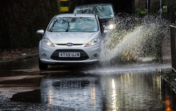 This Is Wiltshire: Heavy rain is expected to hit Swindon on Saturday