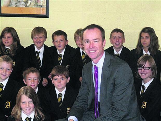 This Is Wiltshire: Abbeyfield School headteacher David Nicholson, who is leaving after eight years