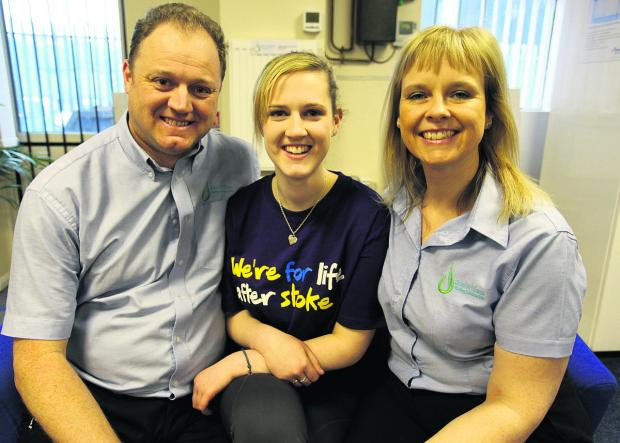This Is Wiltshire: Georgina with mum Debbie and dad John