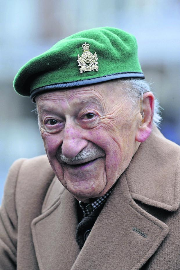 This Is Wiltshire: War vet Harry Beckhough is also believed to be the Tory party's longest serving member