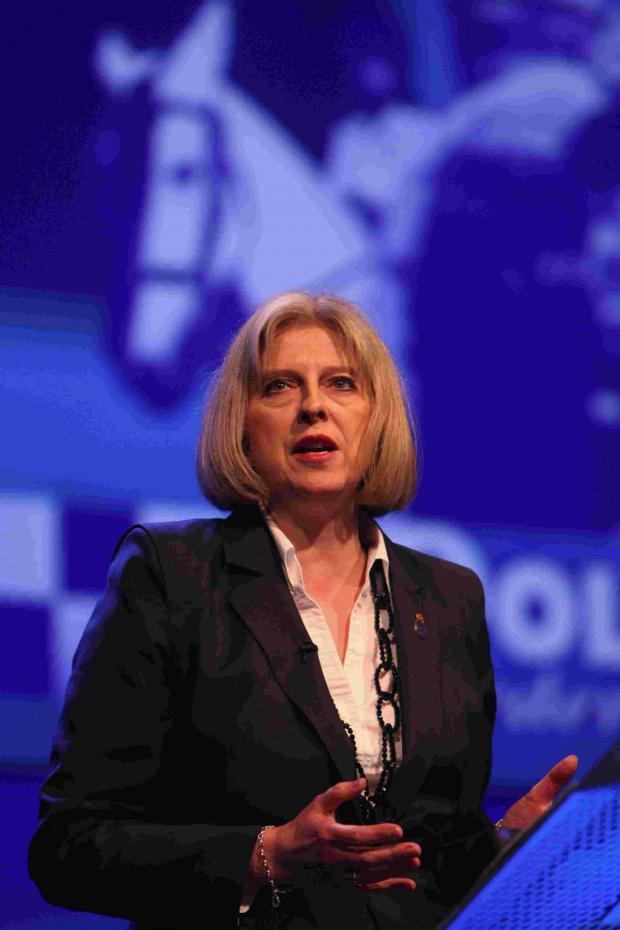 This Is Wiltshire: Home Secretary Theresa May