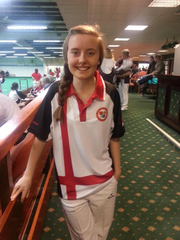 This Is Wiltshire: Lucy Smith has become the first Westlecot club member to represent her country
