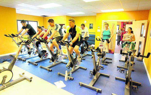 This Is Wiltshire: Bag4Sport will benefit from  the 24-hour spinathon at Route2Fitness